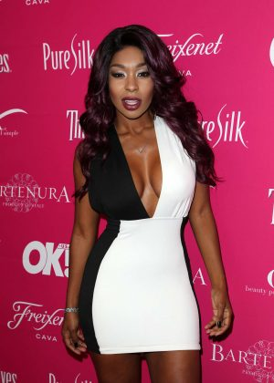Porscha Coleman - OK! Magazine So Sexy LA Party in Los Angeles