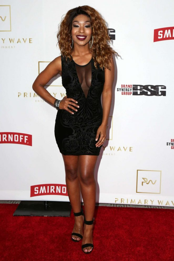 Porscha Coleman - Primary Wave 11th Annual Pre-Grammy Part in LA