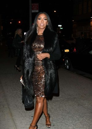 Porsha Williams - Arrives at Watch What Happen Live in New York