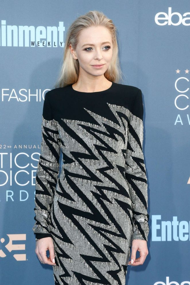 Portia Doubleday - 22nd Annual Critics' Choice Awards in Los Angeles