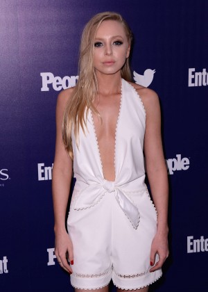 Portia Doubleday - Entertainment Weekly And PEOPLE Celebrate The NY Upfronts in NY