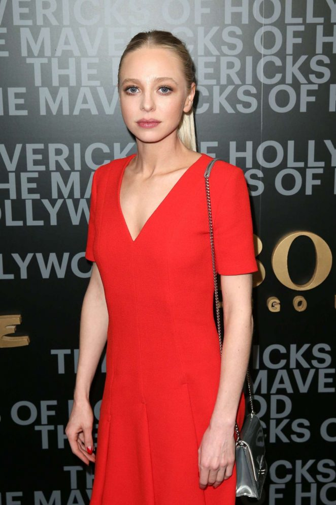 Portia Doubleday  - Esquire celebrates March cover star James Corden with Hugo Boss in LA