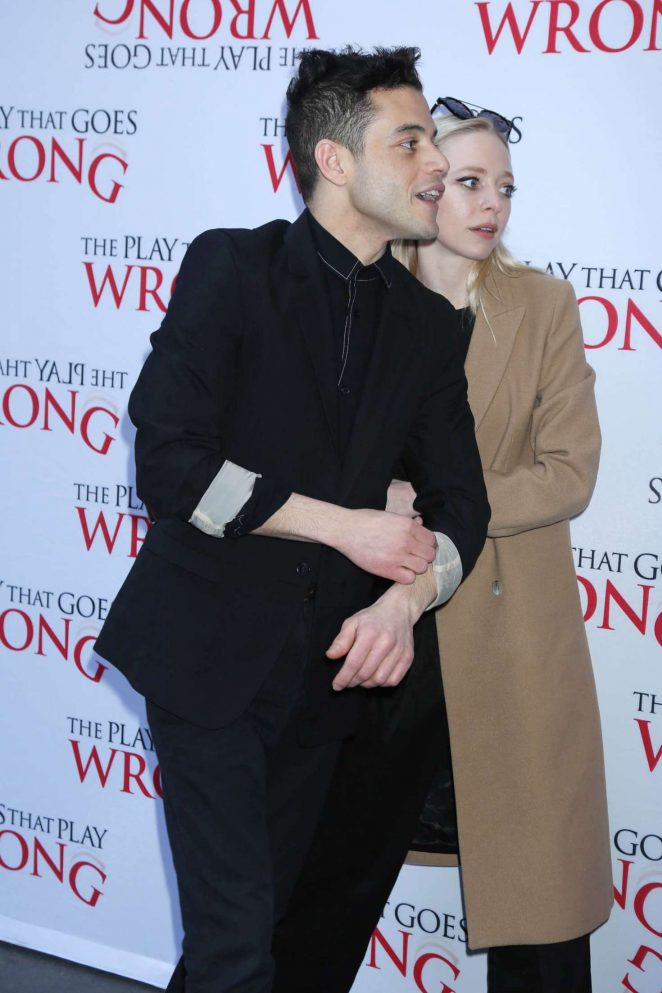 Portia Doubleday - 'The Play That Goes Wrong' Play Opening Night in NY