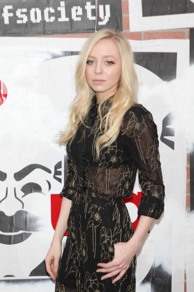 Portia Doubleday - USA Network's 'Mr Robot' For Your Consideration Event in NYC