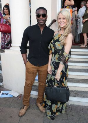 Portia Oduba at New Wimbledon Theatre in London