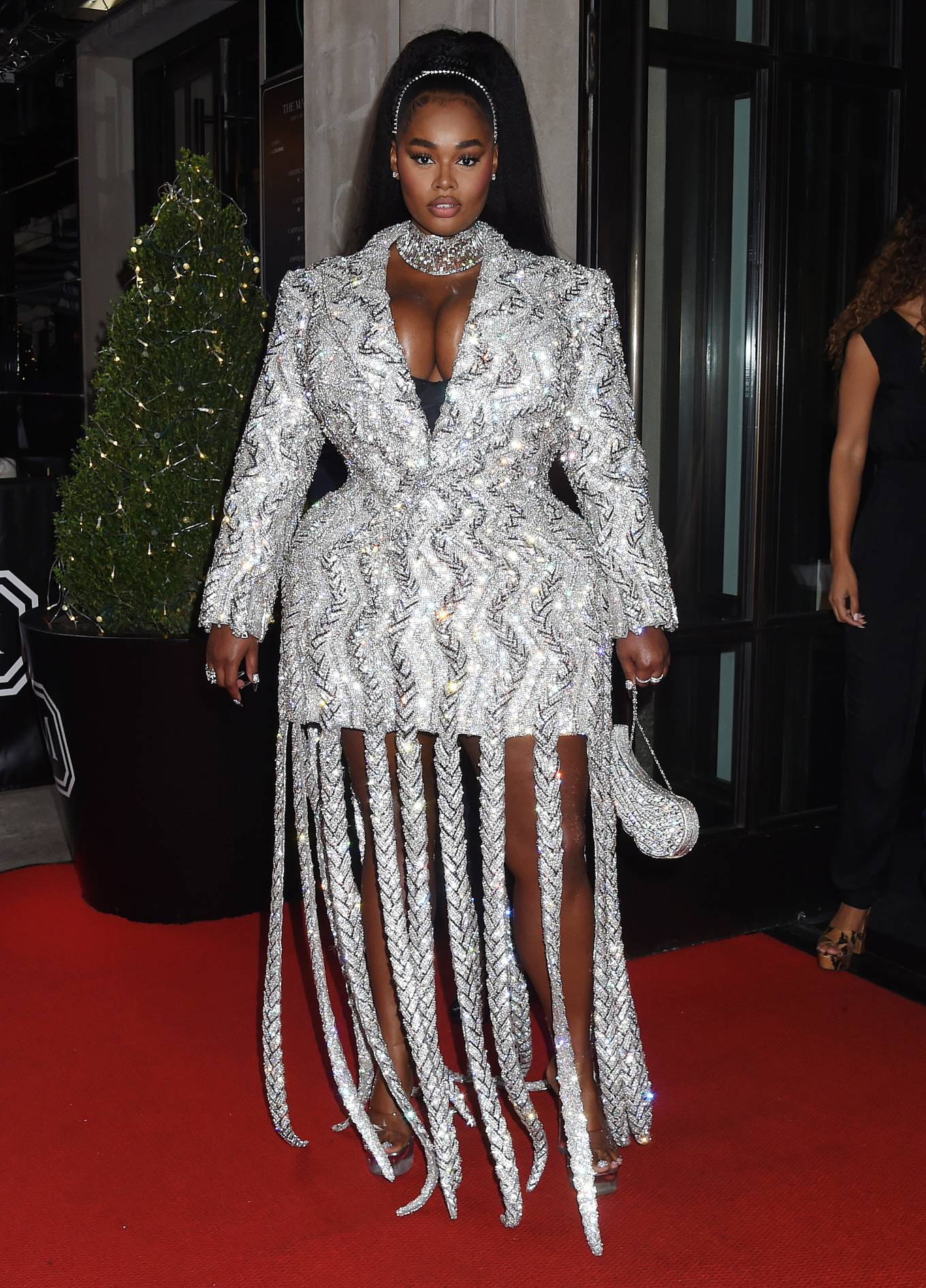 Precious Lee 2021 : Precious Lee – Departing The Mark Hotel in New York City for the 2021 Met Gala-06