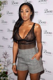 Precious Muir - In bodysuit at Boux Avenue AW19 Launch Event in London