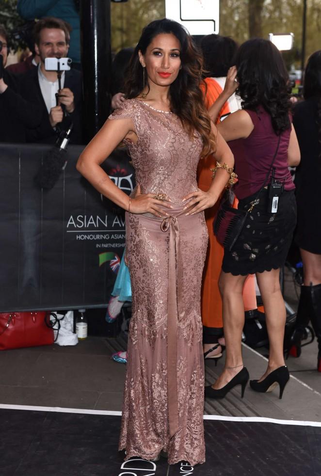 Preeya Kalidas - Asian Awards 2015 in London