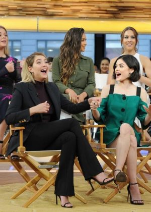 Pretty Little Liars Cast at 'Good Morning America' in New York City
