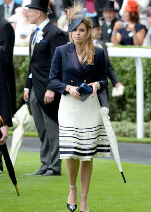 Princess Beatrice - Day 1 of Royal Ascot at Ascot Racecourse in Ascot