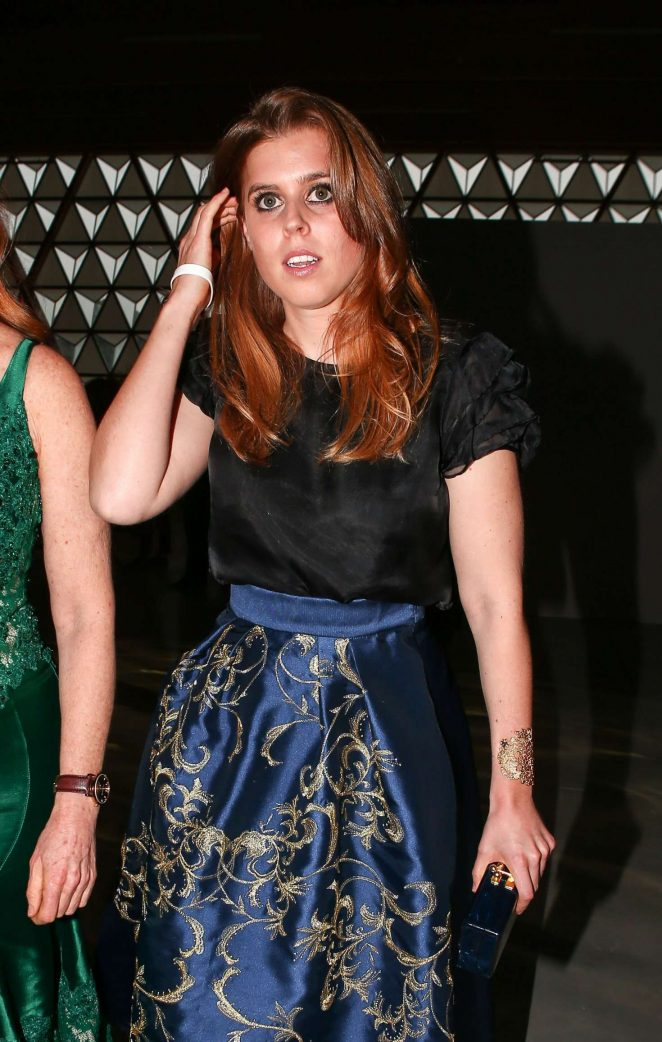 Princess Beatrice - Fashion for Relief Charity Gala 2017 in Cannes