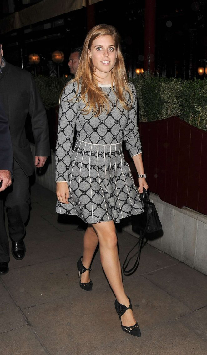 Princess Beatrice - Love Magazine Party at Lou Lou's in London