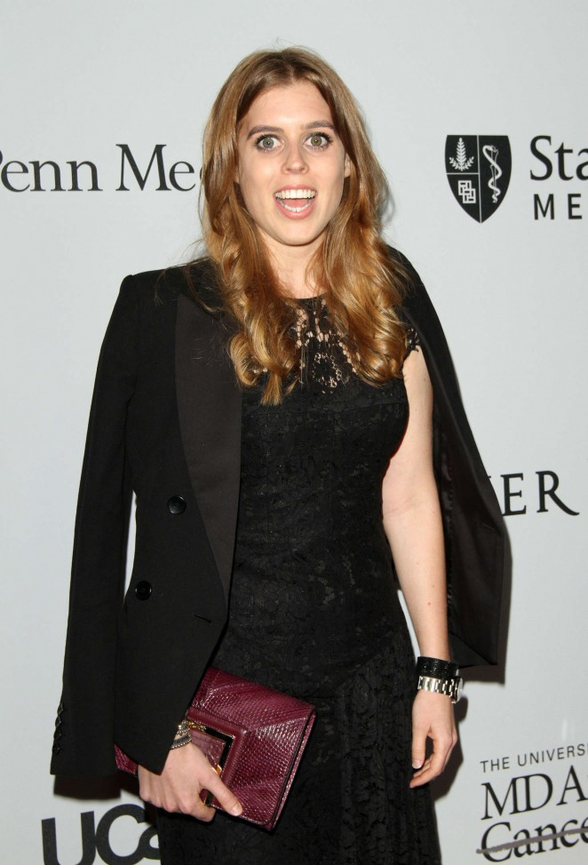 Princess Beatrice of York – Launch of The Parker Institute for Cancer Immunotherapy in LA