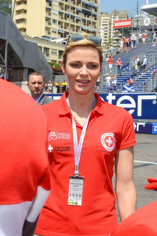 Princess Charlene - Monaco Formula One Grand Prix in Monte Carlo