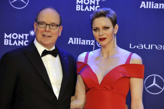 Princess Charlene of Monaco: 2017 Laureus World Sports Awards -01