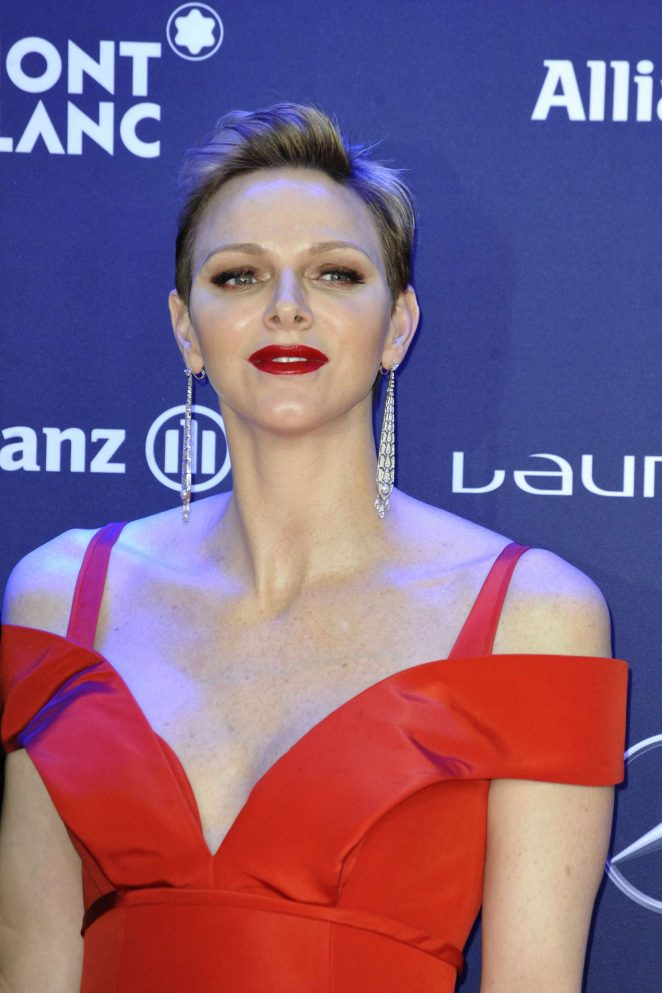 Princess Charlene of Monaco - 2017 Laureus World Sports Awards in Monte Carlo