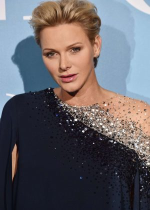 Princess Charlene of Monaco - 2018 Gala for the Global Ocean in Monte-Carlo