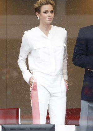 Princess Charlene of Monaco at F1 Grand Prix of Monaco in Monte-Carlo