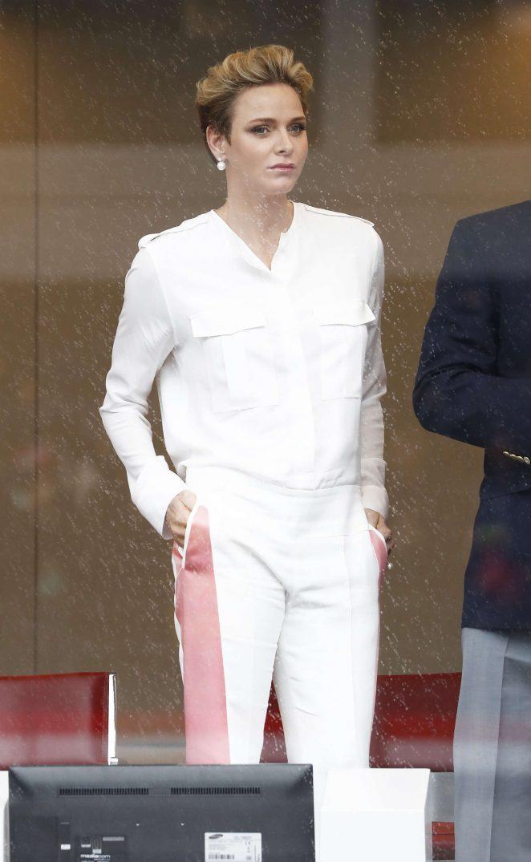 Princess Charlene of Monaco at F1 Grand Prix of Monaco in Monte-Carlo