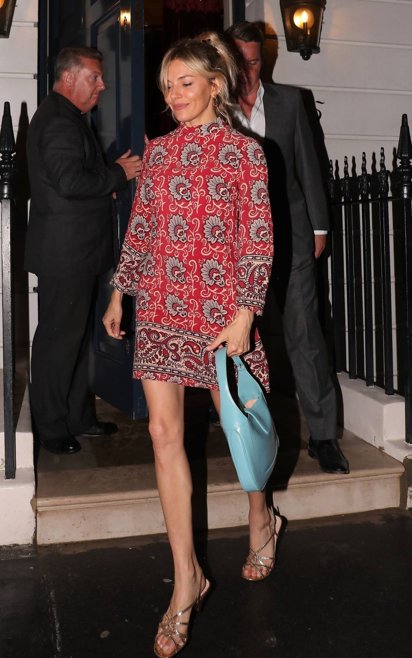Princess Eugenie 2021 : Princess Eugenie – With husband Jack Brooksbank and Sienna Miller at Oswalds in Mayfair-09