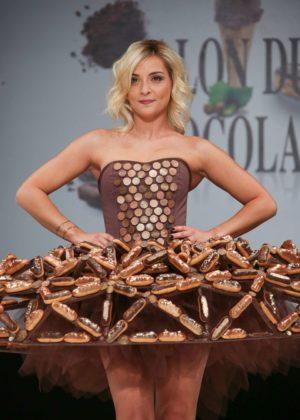 Priscilla Betti - 'Salon Du Chocolat Paris 2017' - Chocolate Fair in Paris