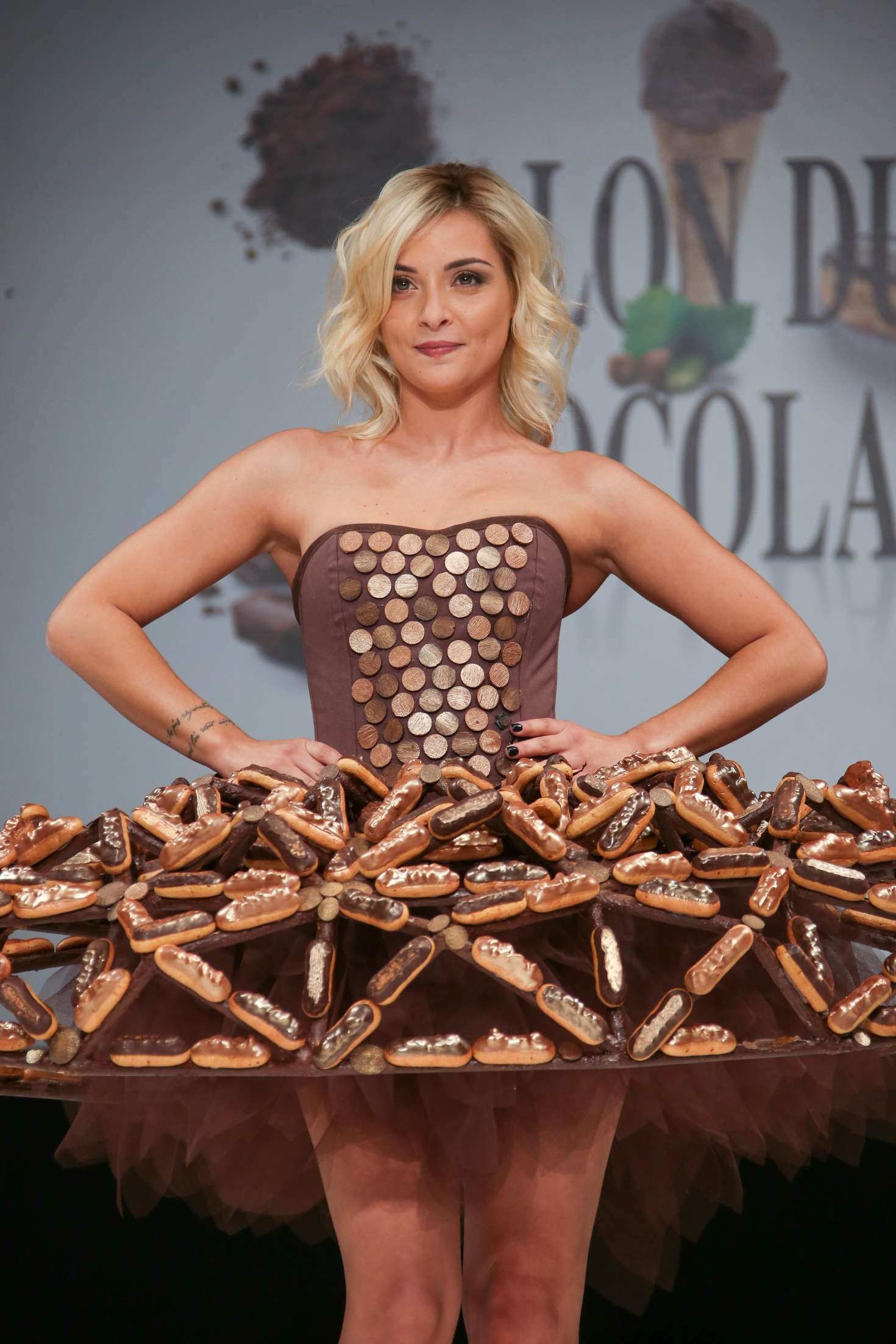 Priscilla Betti - 'Salon Du Chocolat Paris 2017' - Chocolate Fair in Paris