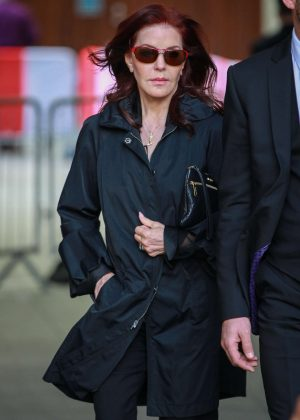 Priscilla Presley at BBC Studios in London