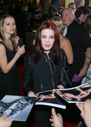 Priscilla Presley at Egyptian Theatre in Los Angeles