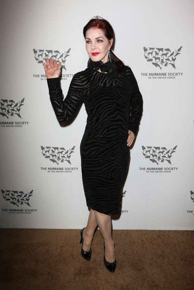Priscilla Presley - The Humane Society Of The United States To The Rescue Gala in Hollywood