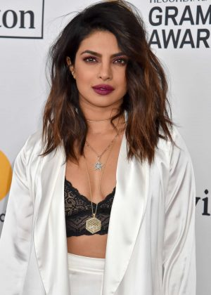 Priyanka Chopra - 2018 Pre-Grammy Gala and Salute to Industry Icons with Clive Davis in NY