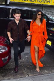 Priyanka Chopra and Nick Jonas - Out and about in NYC