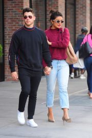Priyanka Chopra and Nick Jonas - Out in New York