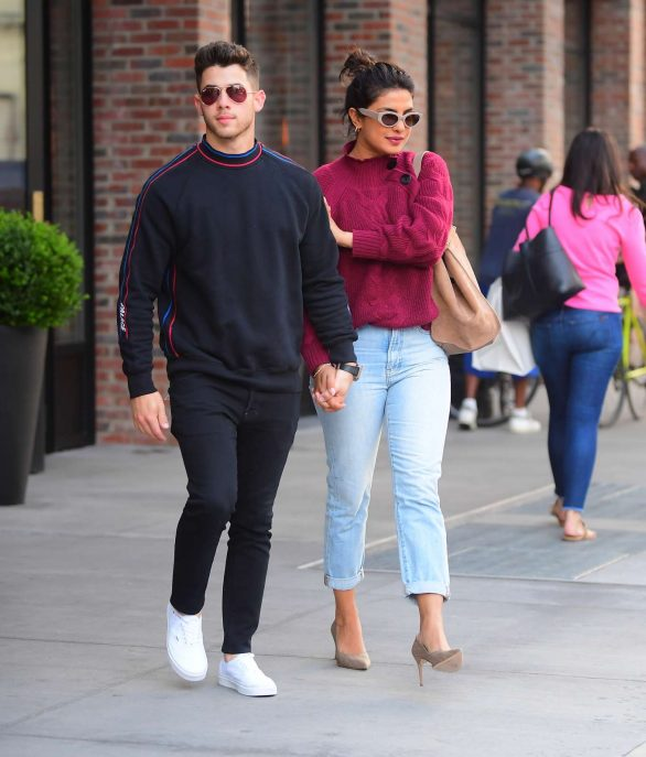 Priyanka Chopra and Nick Jonas - Out in New York