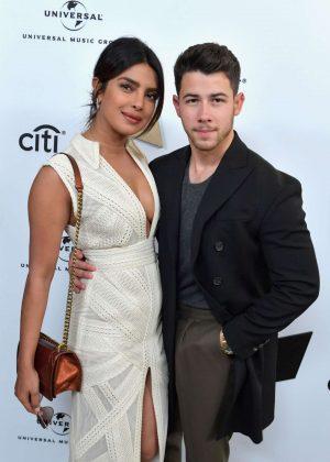 Priyanka Chopra and Nick Jonas - Sir Lucian Grainge's Artist Showcase Presented by Citi in LA