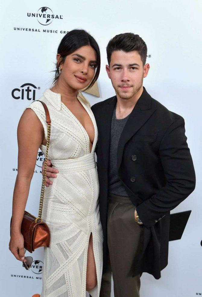 Priyanka Chopra and Nick Jonas – Sir Lucian Grainge's Artist Showcase Presented by Citi in LA