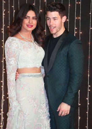 Priyanka Chopra and Nick Jonas - Wedding celebrations in Mumbai