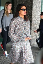 Priyanka Chopra - Arrives at Airport in Milan