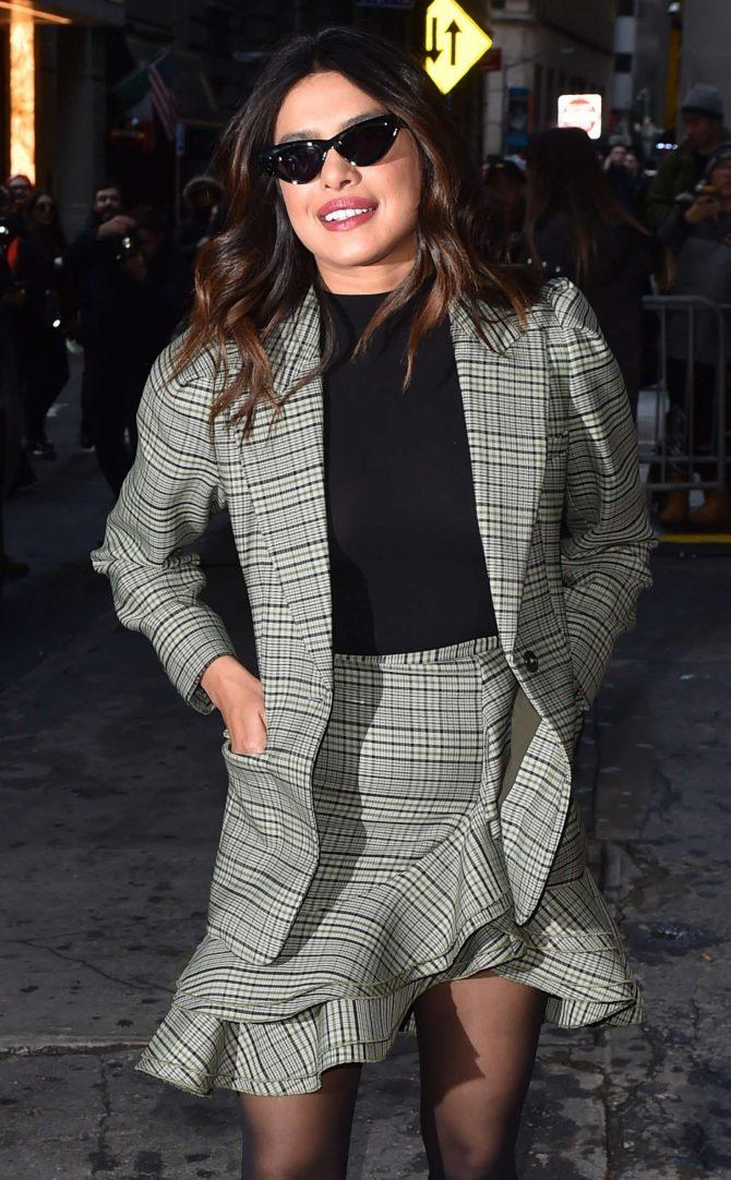 Priyanka Chopra – Arrives at Michael Kors Fashion Show in New York