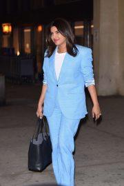 Priyanka Chopra - Arrives at Newark Airport in New York