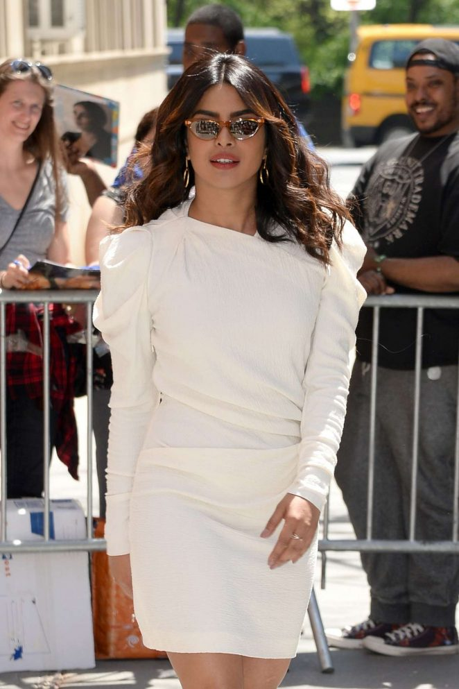 Priyanka Chopra - Arrives at 'The View' TV Show in New York