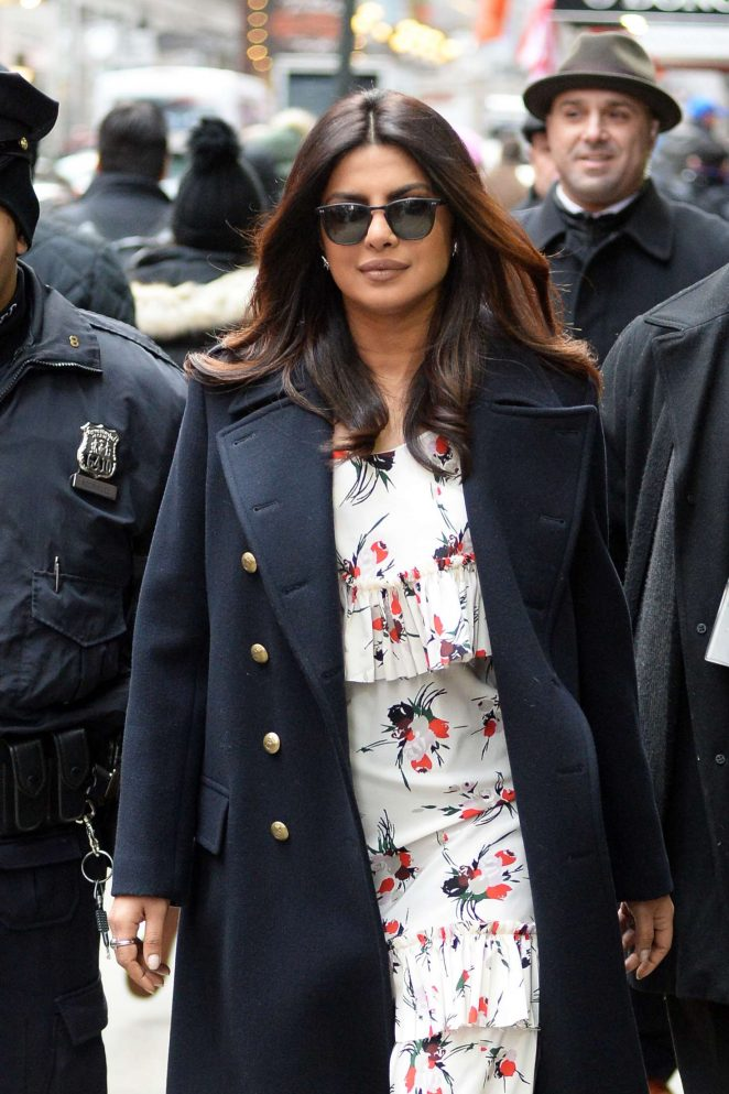 Priyanka Chopra: Arrives on Good Morning America -16
