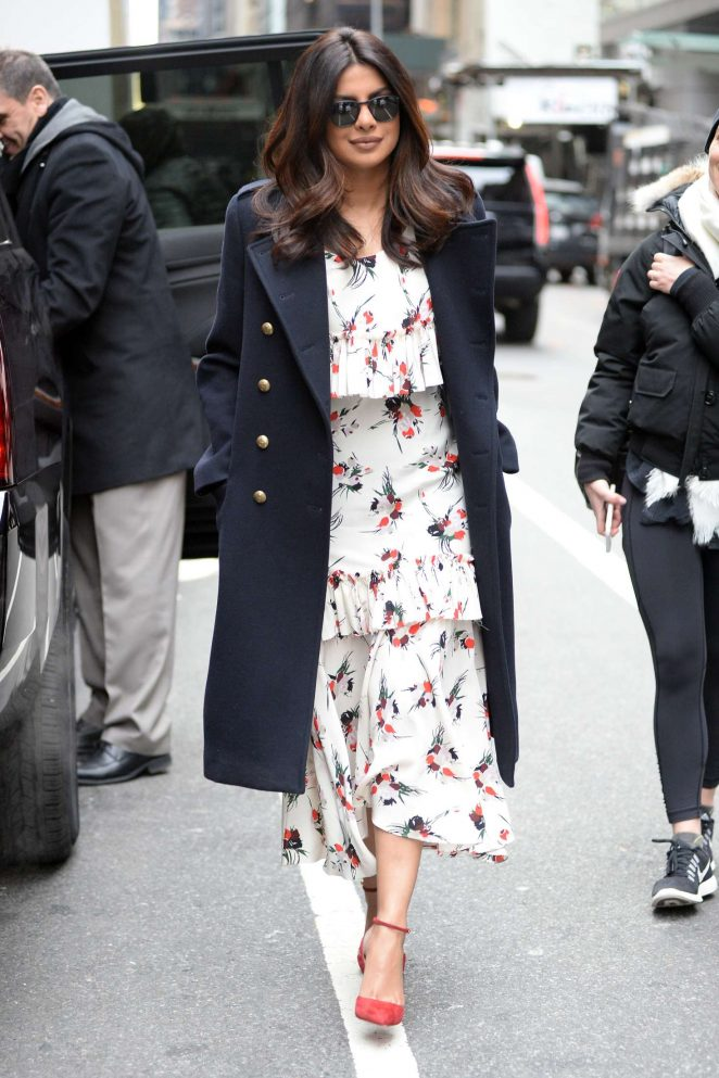 Priyanka Chopra: Arrives on Good Morning America -21