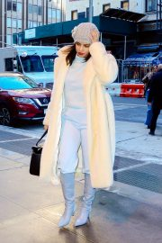 Priyanka Chopra - Arriving at her hotel in New York City
