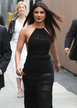 Priyanka Chopra - Arriving at Jimmy Kimmel Live! in LA