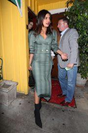 Priyanka Chopra at Dan Tana's in West Hollywood