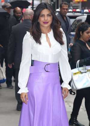 Priyanka Chopra at 'Good Morning America' in New York City