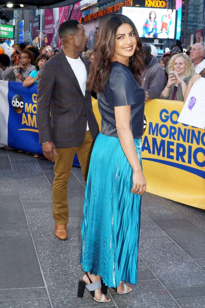 Priyanka Chopra 2016 : Priyanka Chopra at Good Morning America -09