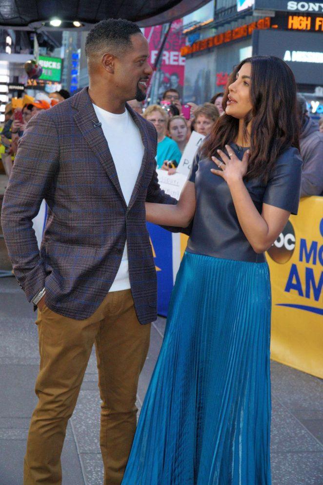 Priyanka Chopra at Good Morning America -11