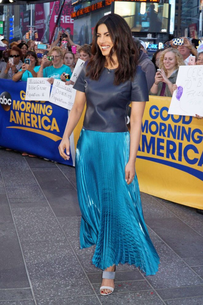 Priyanka Chopra at Good Morning America -18