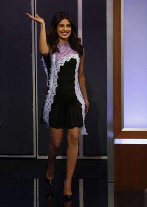 Priyanka Chopra at Jimmy Kimmel Live! in Los Angeles